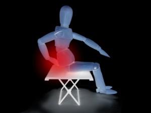 座る 腰痛
